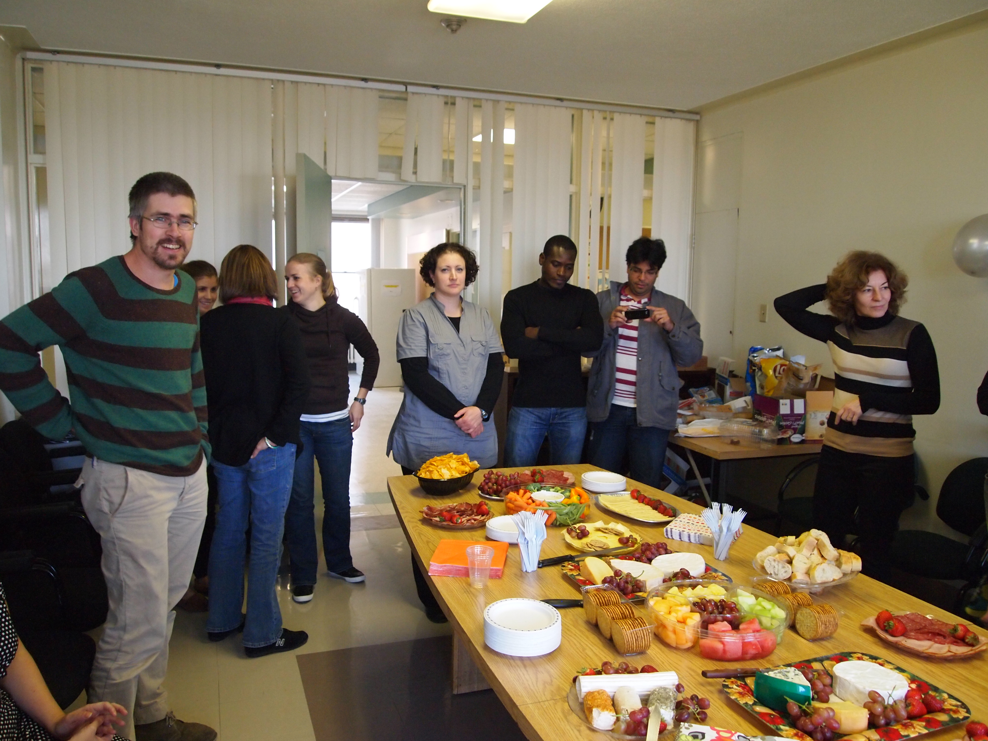 Lab opening Party, 2011
